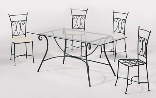 L\'arredamento in ferro battuto per esterni | giardino in ferro battuto
